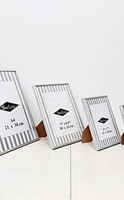 moderne / nutidig rektangulære akryl / aluminium billedrammer sæt 4stk