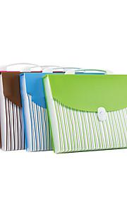 תיק A4 ירוק בית הספר נייד תיקיית נייר