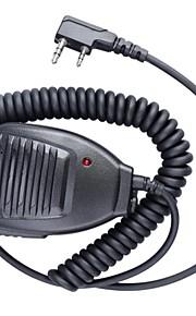 baofeng 5r-mic professionele unieke ontwerp walkie talkie handheld microfoon van hoge kwaliteit