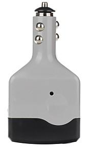 BEAUTY-CAR 6W DC 12V to AC 220V Car Power Inverter with USB Port  (Grey)