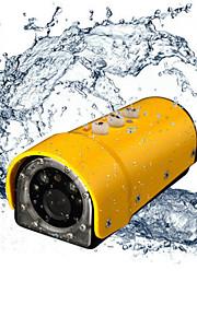 1080p vandtæt udendørs sport handling videokamera (assorterede farver)