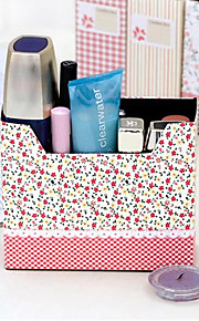 Rural Flower Spots Pattern DIY Paper Storage Box(Random Colors)