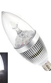 E14 - 12 Stearinlys Pærer (Kald Hvit 120 lm- AC 85-265 V- 1 stk