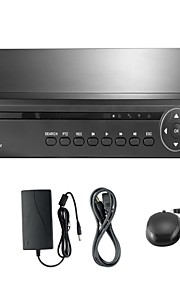 annke 16ch 960H dvr w / ecloud hdmi 1080p / VGA / BNC-uitgang-real time op afstand bekijken, qr code scan p2p