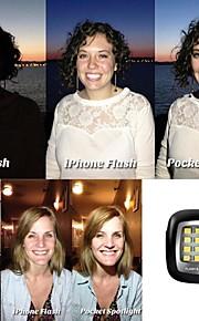 16LED mini notte potente portatile utilizzando Selfie migliorare il flash a LED per ios / android / wp8.0 / Selfie / macchina fotografica