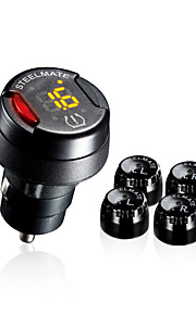 steelmate diy TPMS tp-70b draadloze sensoren bandenspanningscontrolesysteem bar drukeenheid
