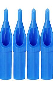 itatoo ™ 100st tattoo supply steriele blauwe plastic wegwerp tattoo tips-d tips