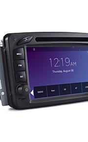 2 DIN bil DVD-afspiller bilstereo til Mercedes C-klasse a-klasse CLK (1080p video)