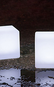 iluminado levou cadeira cubo levou ao ar livre cubo plástico levou cadeira cubo