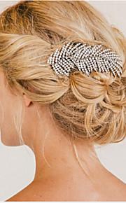 Hochzeit/Party - Haarkämme ( Krystall/Strass/versilbert )