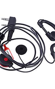 baiston professionele oorhaak oortelefoon met PTT voor walkie talkie (verschillende kleuren)
