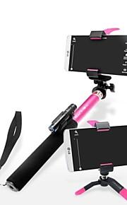 ashutb uitschuifbare bluetooth monopod selfie stick en statief voor de iPhone, Samsung en GoPro camera