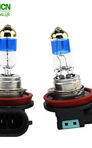 xencn h11 12V 55W lampadine auto 5000k TELEEYE luce intensa sostituire aggiornare eccellente fendinebbia alogeni qualità