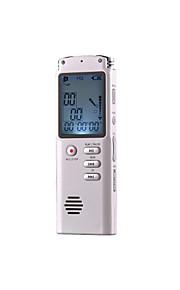 t-60 digitale audio-recorder usb mini voice recorder 8GB geheugen audio telefoon recorder met mp3-speler LCD-display