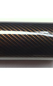 2d koolstofvezel car wrapping film auto gewijzigd film car wrapping film auto stickers grootte: 1m * 1.52m