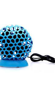 ball stil usb drevet mini desktop fire-blad fan