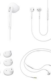 grote d klassieke 3.5mm in-ear koptelefoon met microfoon line controle voor mobiele telefoon