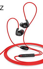 Byz k6 muziek headset met draad toneable mobiele telefoon headset