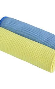"""sinland microfiber wafel weave auto schoonmaken en detaillering drogen van handdoeken assorti colorspack van 2 16 """"x27"""""""