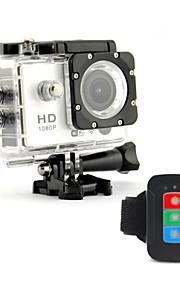 waterdichte IR afstandsbediening 12mp dv617d hd wifi sport camera