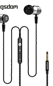langsdom f1 in-ear koptelefoon xbs bass metalen oordopjes volumeregeling cellphone oortelefoon met microfoon headset