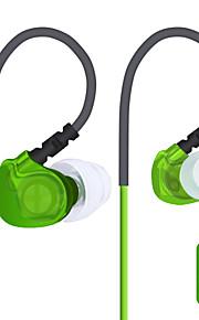 plextone s20 ® sweatproof / nacht-lichtgevende / sport koptelefoon bedraad oordopjes (in het oor) met microfoon / voor muziek