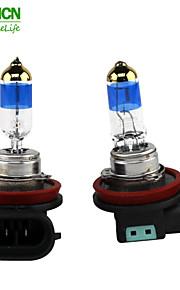 xencn h11 12v 70w lampadine auto 5000k TELEEYE luce intensa sostituire aggiornare eccellente fendinebbia alogeni qualità