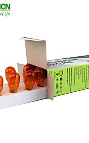 10st xencn t15 12v 16w w2.1 * 9.5d amber instrument kant voorste positie interieur dashboard verlichting