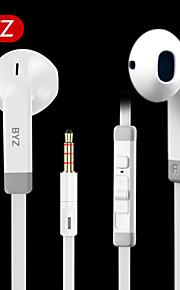 Byz s800 muziek headset met draad toneable mobiele telefoon headset