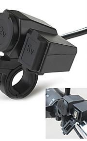hot motorfiets 2.1a sigarettenaansteker USB-telefoon stopcontact lader waterdicht