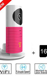 besteye® 16gb TF kort og smart kamera ip med IR nattesyn trådløs overvågning wifi kamera