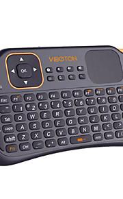 mini s1 2.4g fly gaming mouse dell'aria di telecomando tastiera senza fili per computer desktop pc portatile con touchpad