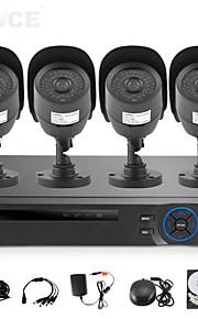 Babykamer/Achtertuin/Voordeur/Garage - Kantoor/Winkel/Pakhuis/School/Straat - Bullet camera - CCTV DRV KIT (8 Kanaals , 1 Kanaals)