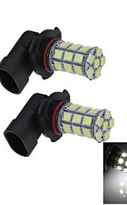 2X 27 5050 LED 9006 Bulb White Fog Light Parking Backup Lamp DC 12V HB4 P22d H303