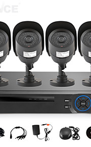 Babykamer/Achtertuin/Voordeur/Garage - Kantoor/Winkel/Pakhuis/School/Straat - Bullet camera - CCTV DRV KIT (4 Kanaals , 1 Kanaals)