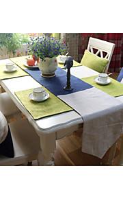 """høj kvalitet tricolor bordløber (13 """"x79"""")"""