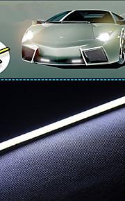 10stk hry® 17cm 600-700lm kørelys hvid farve lys cob DRL vandtæt dagslys (12v)