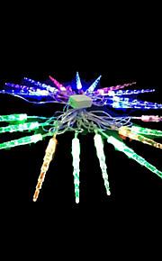 2W 4 Meter Außendurchmesser 20pcs Lampe LED-Modellierung Zeichenfolge Beleuchtung kleine Eiszapfen Lichter, RGB-Farb