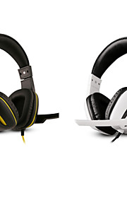 professionel usb stereo gaming headset hovedtelefon med mikrofon til pc gamer