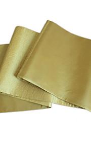 блеск стежка лоскутное золота полиэстер таблица бегуна