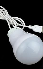 bærbare usb-grensesnitt førte 5W nødsituasjon lampe pære