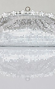 Handbag Satin/Silk Evening Handbags/Clutches/Mini-Bags/Wallets & Accessories With Sequin/Crystal/ Rhinestone