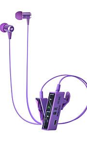 aanraken met clip-on bluetooth headset ondersteunt een tweede