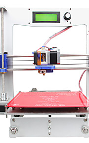 Geeetech 3 D Printers All Aluminum Prusa I3 Structure 3 D Printer Kit  1.75mm Filament / 0.3mm Nozzle