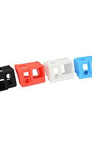 Kingma silikonikotelo gopro sankari 3 + / 3, väri: punainen valkoinen musta sininen