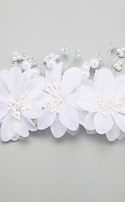 Women's/Flower Girl's Pearl/Alloy/Imitation Pearl Headpiece - Wedding/Special Occasion Hair Combs/Hair Clip 1 Piece