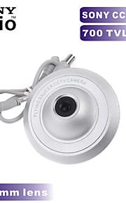 700TVL sony ccd kleuren mini camera ufo camera 2.8mm groothoek binnenshuis CCTV-camera voor metalen behuizing