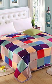 """Coperta - Multicolore - DI 100% poliestere - W79""""×L91""""(W200 x L230cm)"""
