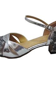 Женская обувь - Искусственная кожа/Мерцающая отделка Серебряный ) - Обувь для стандартной программы