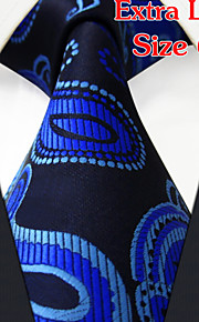 Men's Business Paisley Blue Ties